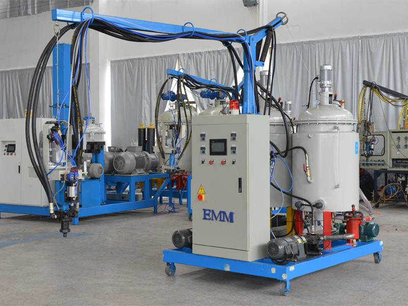 2-برخه د Polyurethane ټیټ فشار ماشین