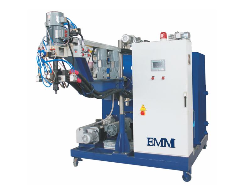 د EMM106 پا elastomer کاسټین ماشین لپاره د پالورټاینین پہیانو لپاره